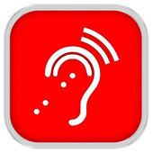 Señal de sistema escucha asistida — Foto de Stock