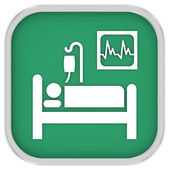 Intensive Care sign — Stock Photo