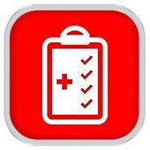 Medical Checklist Sign — Stock Photo