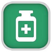 Pill Bottle Sign — Stock Photo