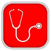 Stethoscope Sign — Stock Photo