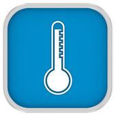 High temperature sign — Stock Photo