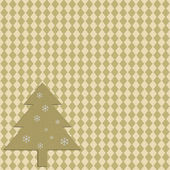 Christmas pattern on textured paper — Stock Photo