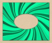 Abstrakt grön texturerat inbjudan — Stockfoto