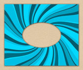 Abstract blue textured invitation — Stock Photo