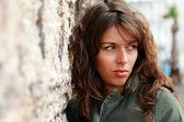 25 yaşında kız açık havada portresi — Stok fotoğraf