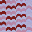 Vintage textured pattern with hearts — Stock Photo #16353271