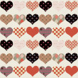 Vintage textured heart background — Stock Photo #16353417