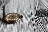 Antique pocket watch of the nineteenth century — Stock Photo