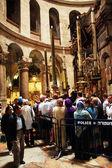 Jerusalem, Israel November 3, 2011: Temple of the Holy Sepul — Stock Photo