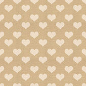 Vintage textured heart background — Foto Stock