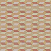 Seamless geometric pattern on textured paper — Stock Photo