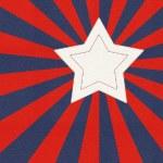 Stylized American flag — Stock Photo #26125681