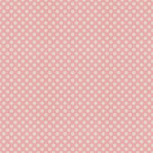 Seamless pink polka dots patten on textured paper — Stock Photo
