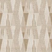 Seamless geometric pattern on paper texture — Stock Photo