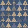Stock Photo: Vintage christmas wrapping paper