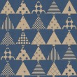 Vintage christmas wrapping paper — Stock Photo
