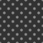 Vintage wrapping paper with snowflake pattern — Stock Photo