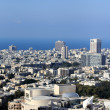 Vertical panoramof Tel Aviv — Stock Photo #36553403