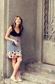 Mulher fashion — Foto Stock