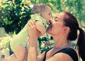 матери и ее ребенка — Стоковое фото