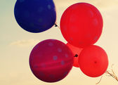Close up of balloons — Stock Photo
