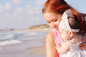 Happy mother and her baby — Stock Photo