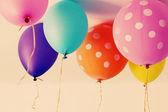 Renkli balonlar — Stok fotoğraf