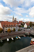 German city Stralsund on the Baltic Sea — Stock Photo