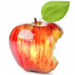Bite on a red Apple — Stock Photo #14027552