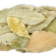 Heap bay leaves - Stock Photo