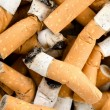 Background from cigarettes - Stock Photo