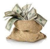 Dinheiro na bolsa — Foto Stock