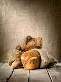 Na variedade de pão — Foto Stock