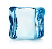 Ice cube isolated — Stock Photo