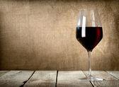Glass of dessert wine — Stock Photo
