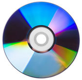 CD disk isolated — Stock Photo