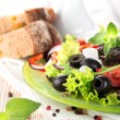 vegetarian salad — Stock Photo