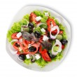 Vegetarian diet salad — Stock Photo