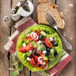 Tasty vegetable salad — Stock Photo