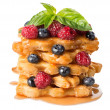 Pyramid of puff pastry — Stock Photo