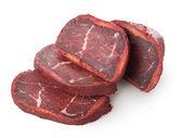 Chopped basturma — Stock Photo