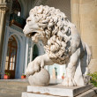 Sculpture of lion — Stock Photo