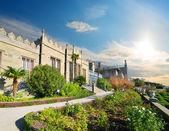 宮殿と庭園 — ストック写真