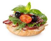 Delicious sandwich — Stock Photo