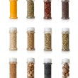 Collage of spices — Stock Photo