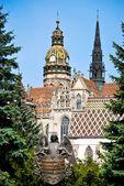 Magnifica cattedrale cristiana — Foto Stock