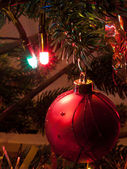 Christmas tree decorations — Стоковое фото