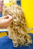 Desenho de penteado — Foto Stock