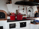 Kitchen stove — Stock Photo